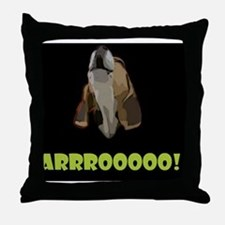 Arrrooooo! Throw Pillow