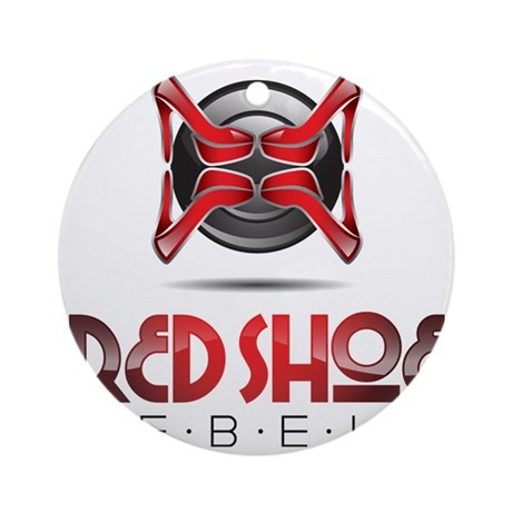 RsR Shoe Logo Round Ornament by ADMIN_CP60024780
