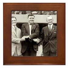 Baseball Legends Framed Tile