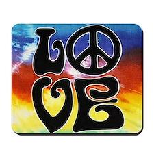 Love  Peace Mousepad