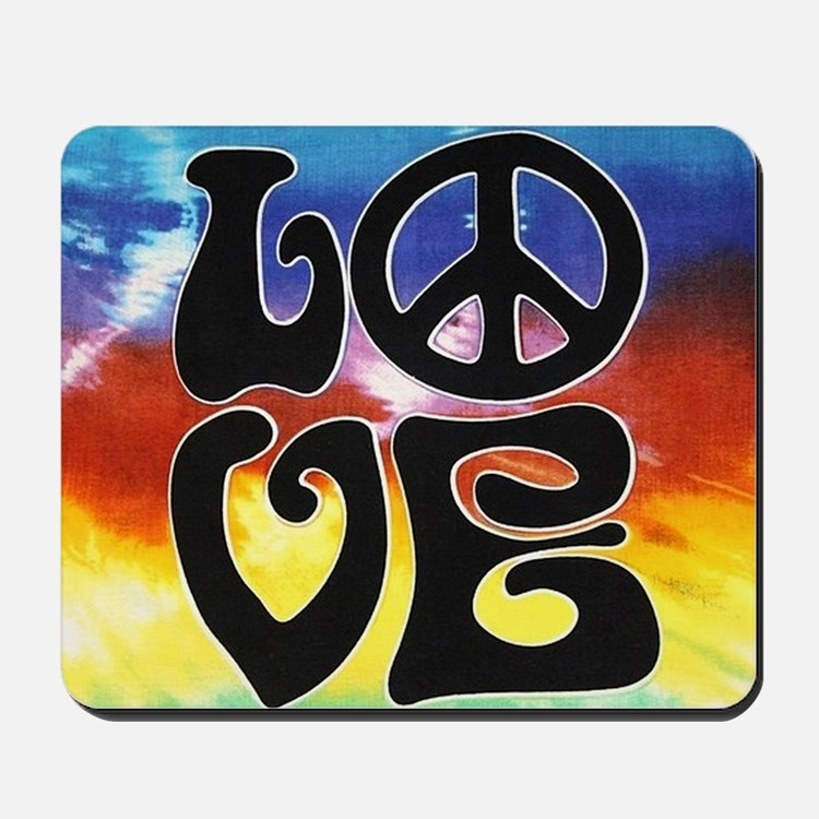 Love  Peace Mousepad