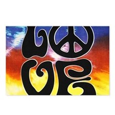 Love  Peace Postcards (Package of 8)
