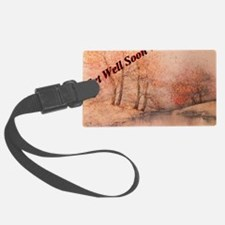 Get Well Soon Country Greeting C Luggage Tag