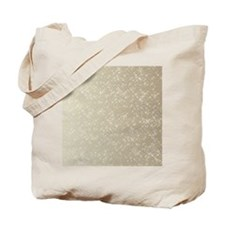 Sparkling Gold and White Tote Bag