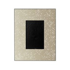 Sparkling Gold and White Picture Frame
