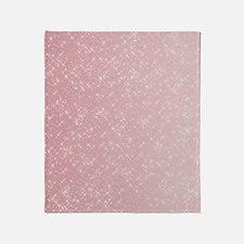 Pink Sparkles Throw Blanket