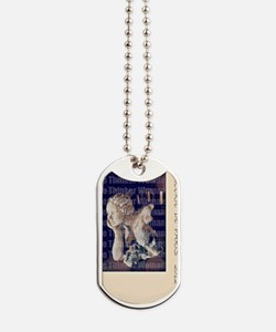 The Thinker A WOMAN , by HELENA Dog Tags