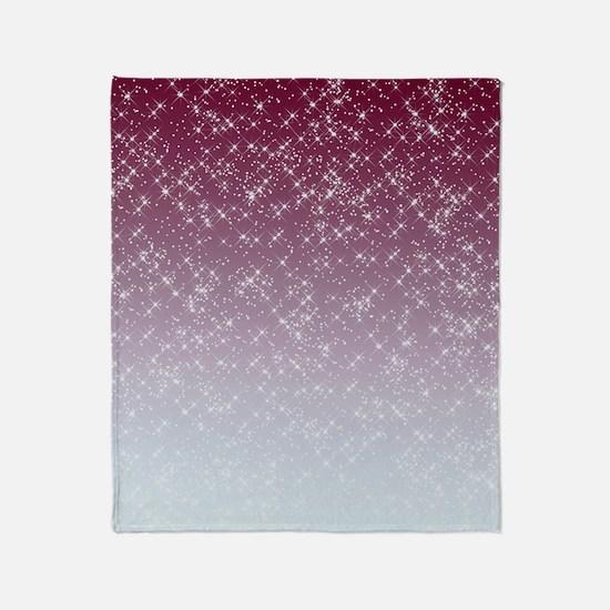 Sparkling Pink Throw Blanket