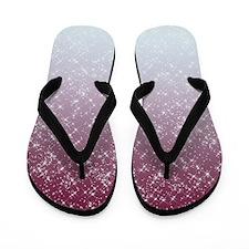 Sparkling Pink Flip Flops