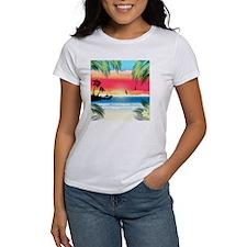 Tropical Beach Tee