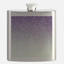 Sparkling Purple Flask