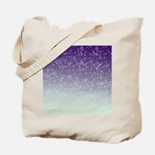 Sparkling Purple Tote Bag