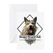 Berger Picard Diamond Greeting Card