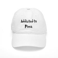 Addicted to Pizza Baseball Cap