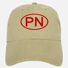 PN Oval (Red) Baseball Baseball Cap