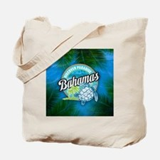 Discover Paradise in Bahamas Tote Bag