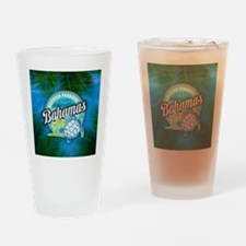 Discover Paradise in Bahamas Drinking Glass