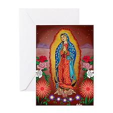 Virgin of Guadalupe Greeting Card