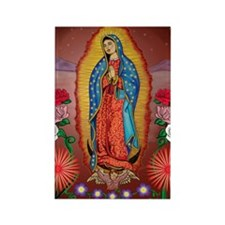 Virgin of Guadalupe Rectangle Magnet