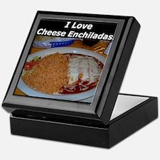 I Love Cheese Enchildas Keepsake Box