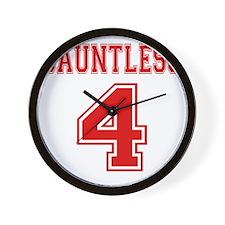 Dauntless 4 Tobias Jersey Wall Clock