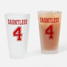 Dauntless 4 Tobias Jersey Drinking Glass