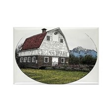 Wineck Barn Rectangle Magnet