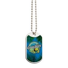 Discover Paradise Costa Rica iPhone Case Dog Tags