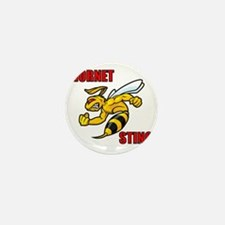Hornet Sting Mini Button