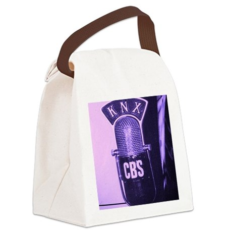 KNX Radio Canvas Lunch Bag