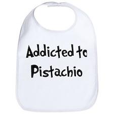 Addicted to Pistachio Bib