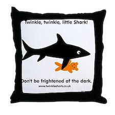 Twinkle, Twinkle Little Shark Throw Pillow