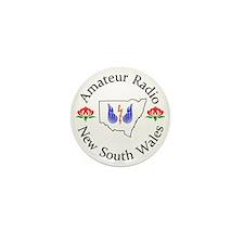 Amateur Radio NSW Logo Mini Button