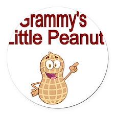 Grammys  Little Peanut Round Car Magnet