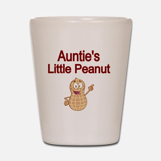 Aunties  Little Peanut Shot Glass