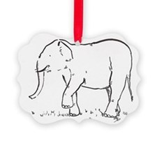 Ellie the Elephant Ornament