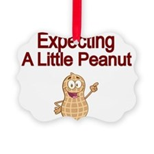 Expecting a little Peanut Ornament