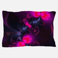 Flower Fairy - Rose and Magenta Ribbon Pillow Case