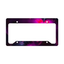 Flower Fairy - Rose and Magen License Plate Holder