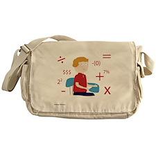 Math Geek Messenger Bag