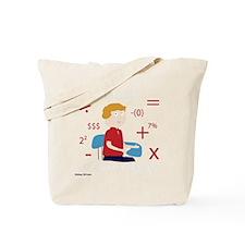 Math Geek Tote Bag