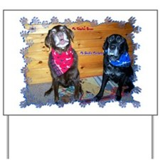 Charlee and Brodie Yard Sign