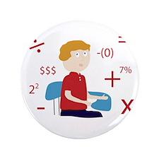 """Math Geek 3.5"""" Button"""