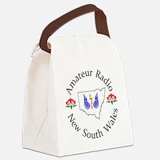 Amateur Radio NSW Logo Canvas Lunch Bag