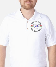 Amateur Radio NSW Logo Golf Shirt