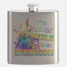 Im Rockin A Puzzle for my Grandson Flask