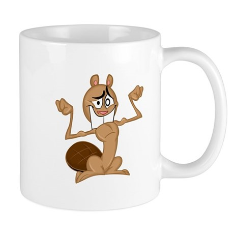 Flexing Beaver MUG