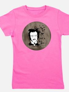 Funny Edgar Allen Poe Girl's Tee