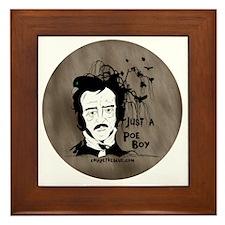 Funny Edgar Allen Poe Framed Tile