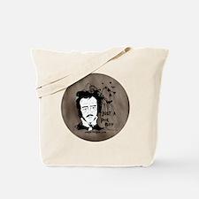 Funny Edgar Allen Poe Tote Bag